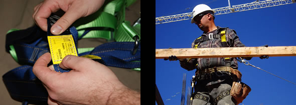 Safety harness inspections